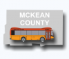McKean County CAB BUS Zones