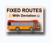 Fixed Routes with Deviation