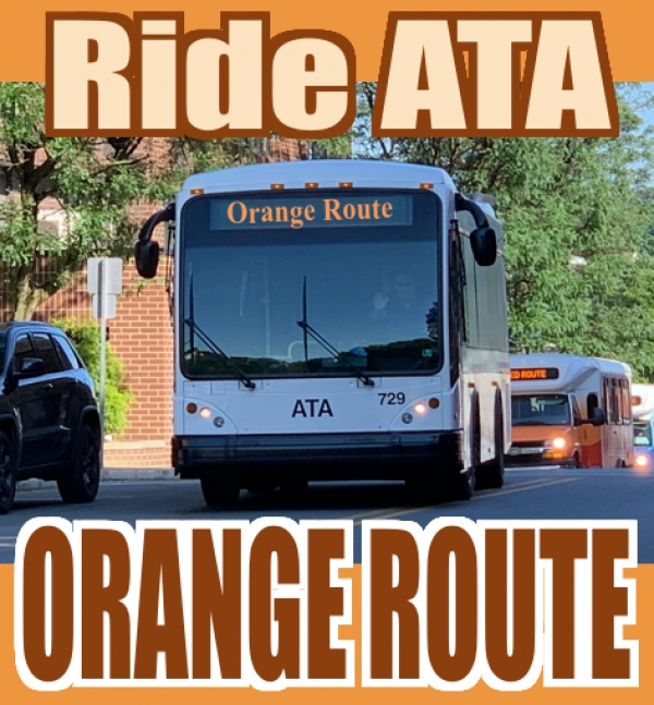RideATA Orange Route - East Side - Walmart