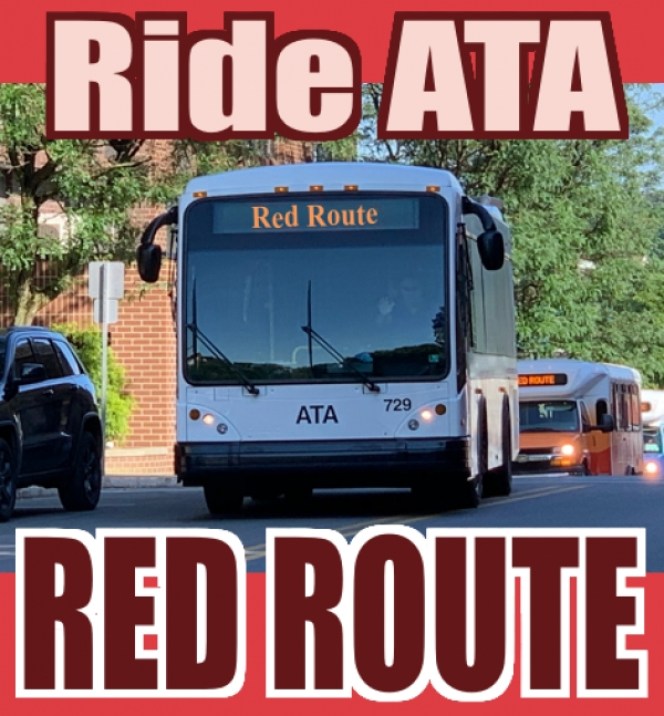 RideATA Red Route - West Sandy Mall